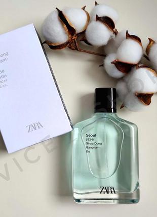 Zara seoul 532-8 духи парфюмерия туалетная вода оригинал испания