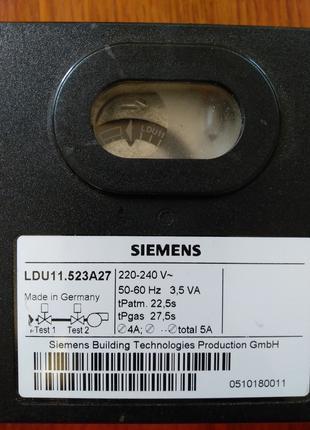Автомат горения Siemens LDU11.523 A27