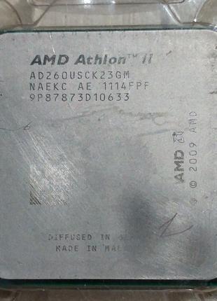 AMD Athlon II X2 260u - AD260USCK23GM 25W сокет AM2+ AM3 1.8ГГц