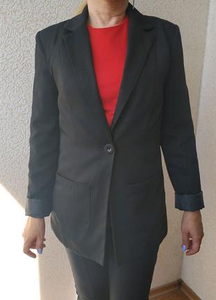 Черный пиджак Only