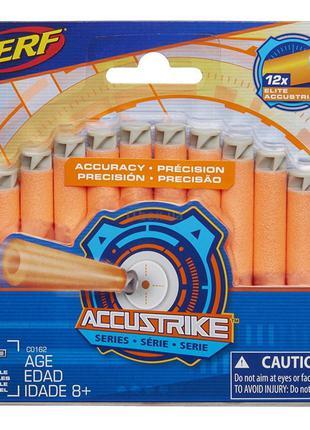 Набор стрел Hasbro Nerf Accustrike 12 шт (C0162)