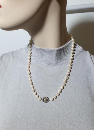 Жемчужное ожерелье, натуральный жемчуг