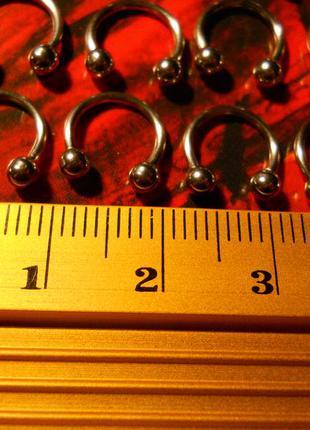 Пирсинг поковка, циркуляр 10 мм