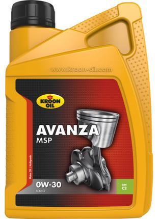 Моторное масло KROON OIL Avanza MSP 0W-30 1л 35941