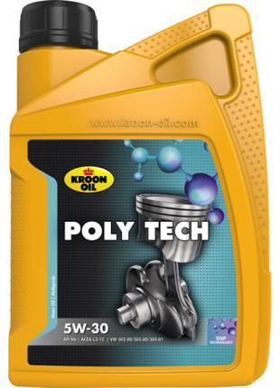 Масло моторное KROON OIL POLY TECH 5W-30 1л 32578