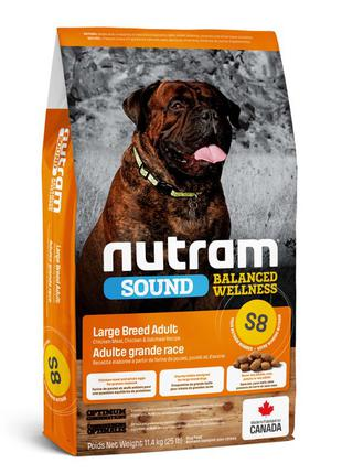 Сухой корм Nutram (Нутрам) S8 Large Breed Adult Dog 11,4 кг