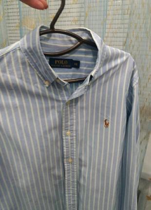Рубашка polo ralph lauren 46