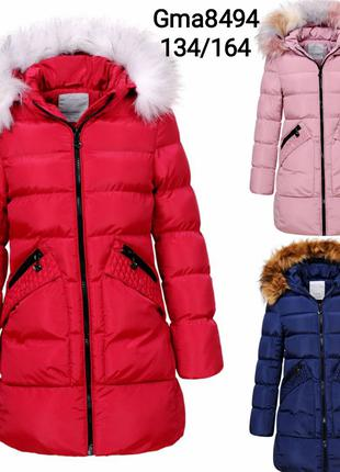Куртка -пальто для девочки! Зима!