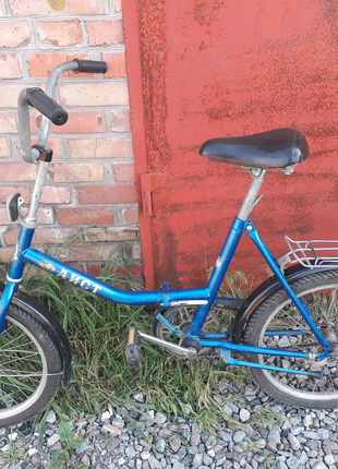 "Велосипед ""АИСТ"" со складной рамой."