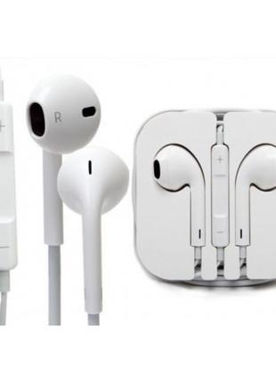 Проводные наушники Apple I5 EarPods, Наушники для iPhone iPod iPa