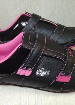 Lacoste кроссовки, кеды, сникерсы , 40 р ,обувь,криперы,форсы