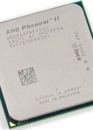 Процессор Phenom II x4 965 BlackEdition 3.4GHz Socket AM3/AM2+
