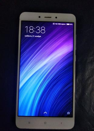 Телефон Xiaomi Redmi Note 4 (mtk) 2/16 silver