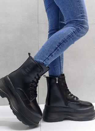 Женские зимние ботинки)))