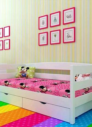 Деревянная детская кровать большой выбор в наличии и под заказ!