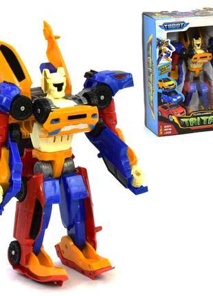 Трансформер TOBOT Тритан / Робот - трансформер Тритан 3 в 1 Trita