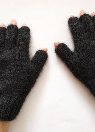 Мужские вязаные перчатки альпака перчатки для it - специалиста