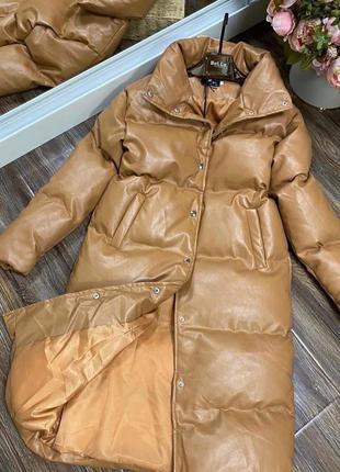 Куртка/пальто, ткань экокожа /синтепон 200,в наличии расцветки...