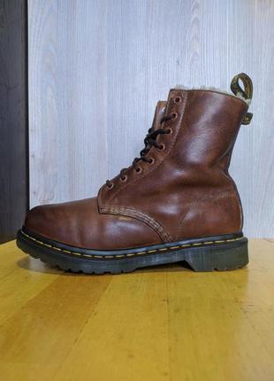 Ботинки кожаные dr. martens 1460 serena