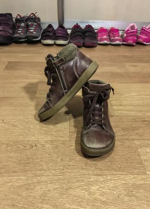 Зимние сапоги ботинки детские Birkenstock ГЕРМАНИЯ 32