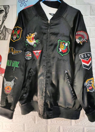 Куртка бомбер мужская