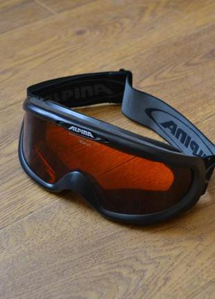 Горнолыжная маска лыжные очки alpina triflex lens