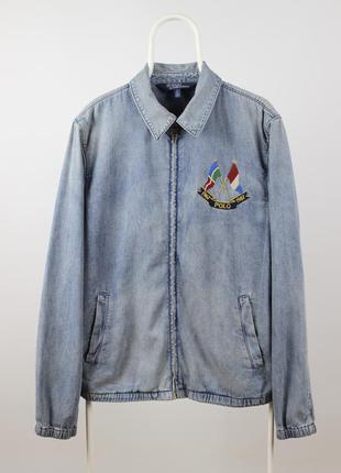 Мужская джинсовая куртка polo ralph lauren