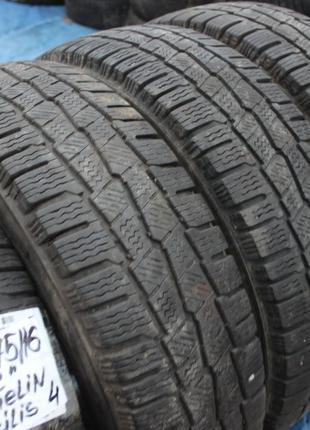 R16C=205-75-R16С Michelin Agilis грузовая зимняя резина шины G...