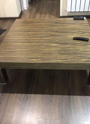 Столик стол журнальный 100 х 100 см Италия