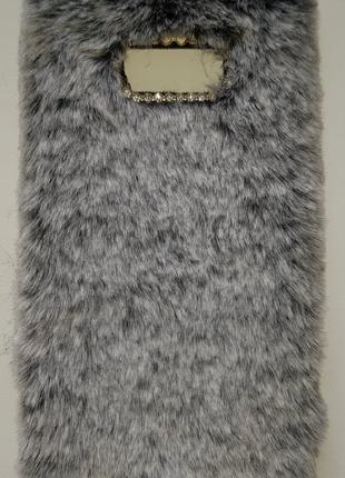 Чехол на Samsung Galaxy S8 Plus(из меха)