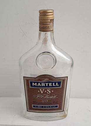 """Бутылка от коньяка """"Martell"""". 0.5л. Франция."""