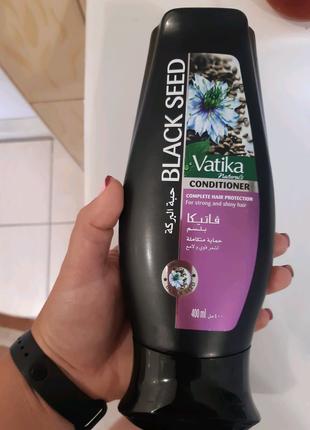 Кондиціонер Vatika 400мл чорний кмін