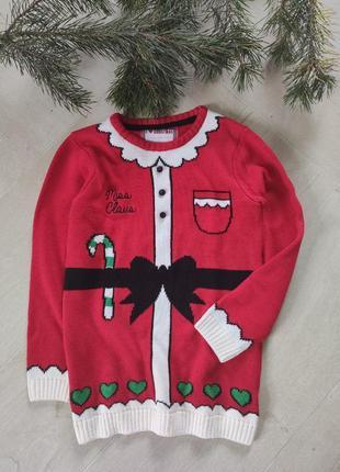 Детский новогодний свитер (24), 9-10 лет