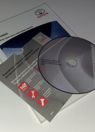 Инструкция (руководство) мультимедиа навигации Toyota Highlander
