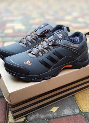 Зимние  мужские кроссовки  adidas climaproof