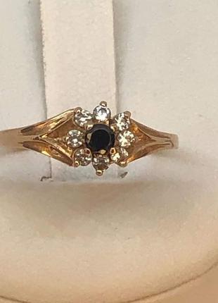 Золотое кольцо с камнем. 1,72грамма