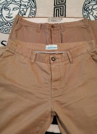 Штаны горчичного цвета, слаксы, брюки.