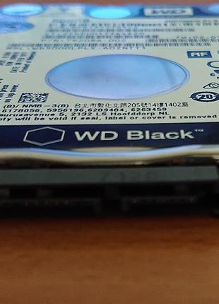 Жесткий диск для ноутбука WD Black WD5000LPLX/500Гб/SATA3/7200rpm