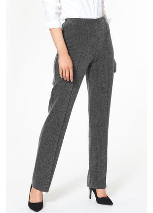 В наличии - прямые фактурные брюки с поясом на резинке *bonmar...