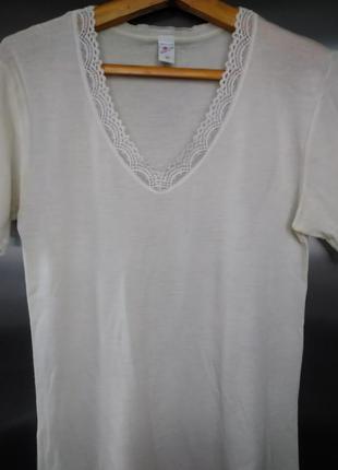 Термобелье - футболка согревающая из  овечьей шерсти scholler ...
