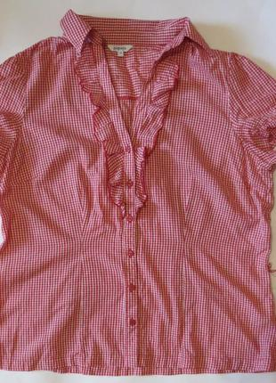 Женская кофточка, рубашка с коротким рукавом