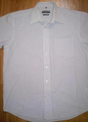 Мужская рубашка copper stone с коротким рукавом