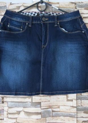 Юбка джинсовая размер 38