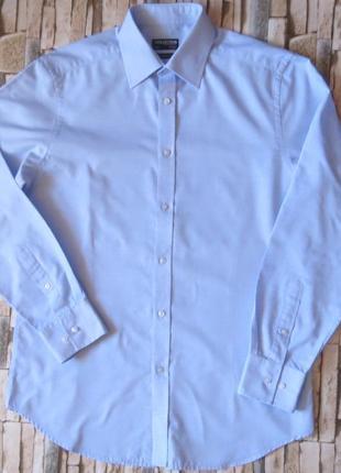 Мужская рубашка приталеная  debenhams