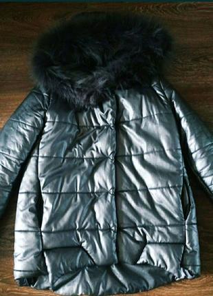 Курточка з еко пуху