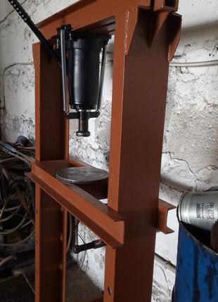 Пресс гидравлический напольный 25 тонн для СТО