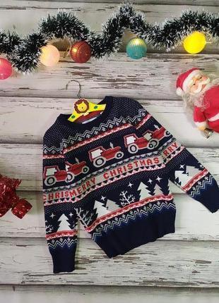 7 лет новогодний свитер palomino
