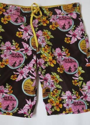 Мужские пляжные шорты в цветах topman 48 размер