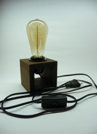 Лампа-нічник в стилі лофт