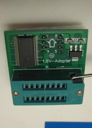 Переходник / адаптер 3,3В на 1,8В для программаторов
